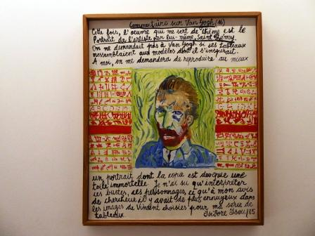 'Commentaire sur Van Gogh' by Isidore Isou